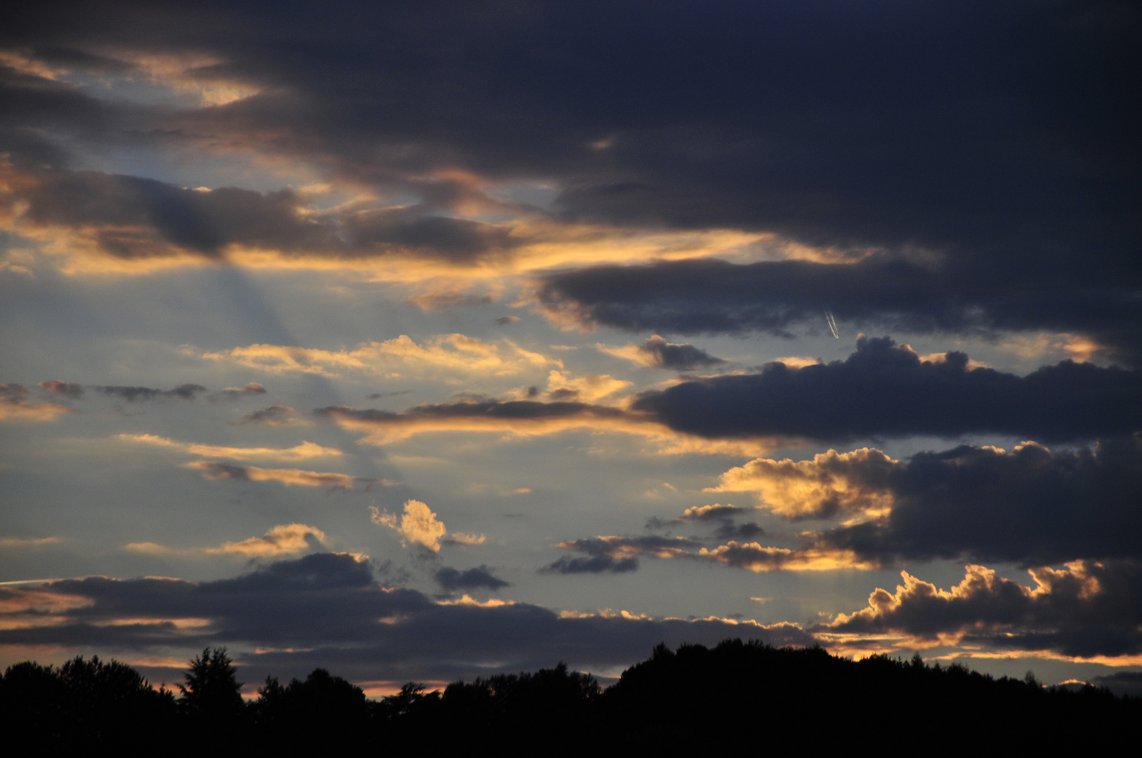 Sunset im Herbst