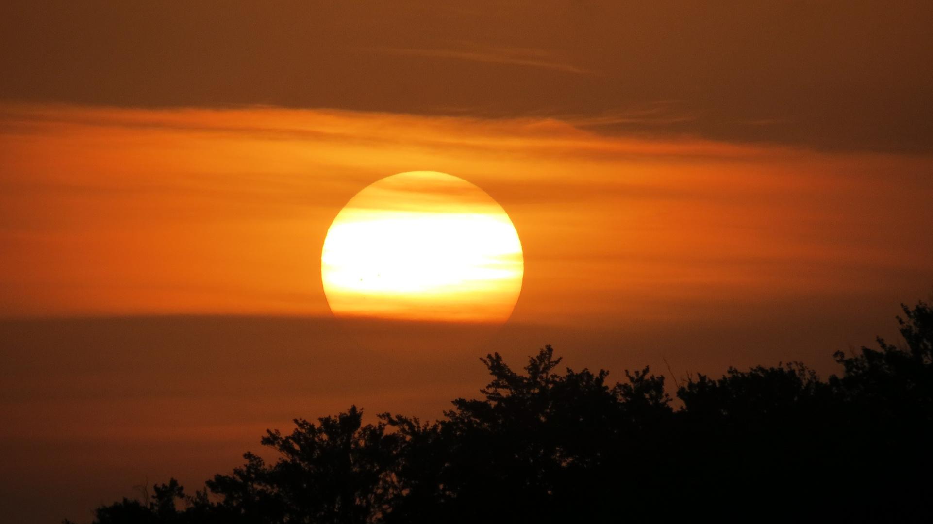 Sunset im Kraichgau