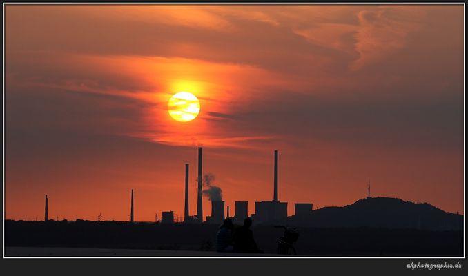 Sunset im Pott -1-