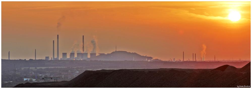 Sunset im Ruhrgebiet