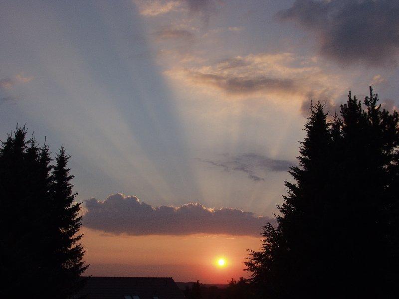 Sunset im Sauerland