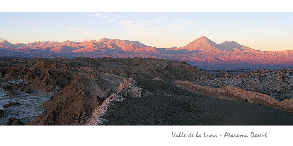 Sunset im Valle de la Luna