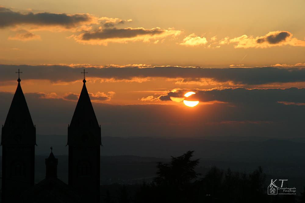 Sunset in Arenberg
