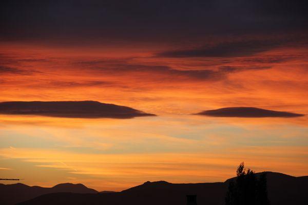 Sunset in Attica