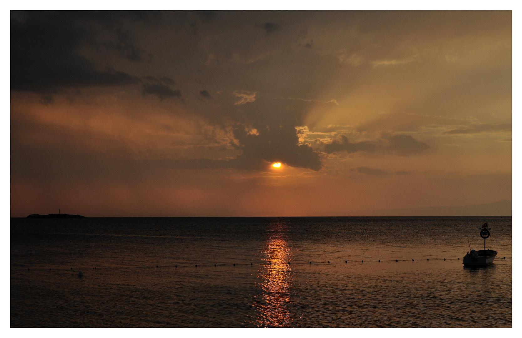 Sunset in Avsa