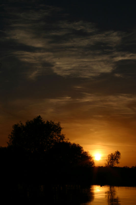 Sunset in Banagher