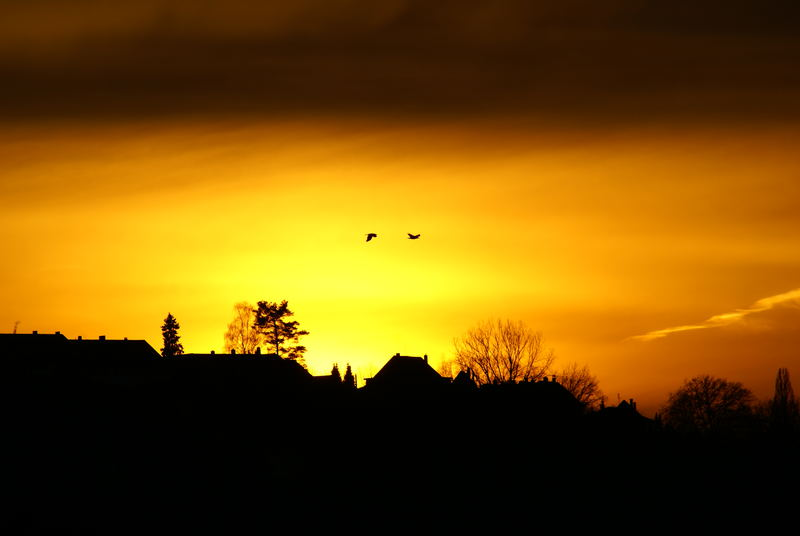 Sunset in Bern, Switzerland