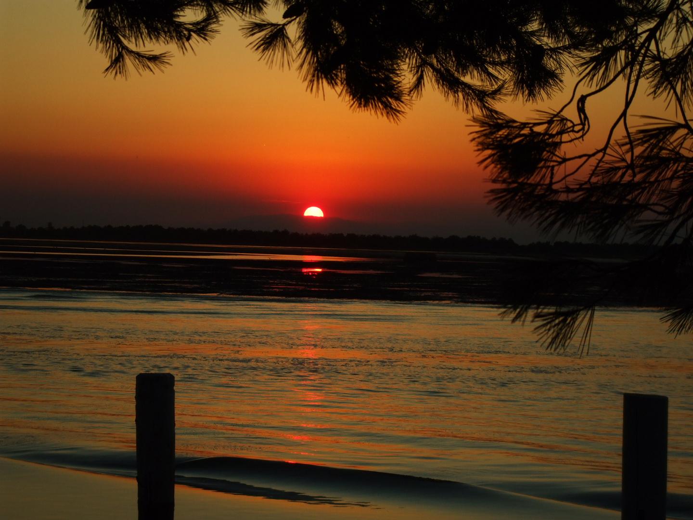 Sunset in Bibione