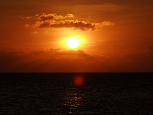 Sunset in Bonaire