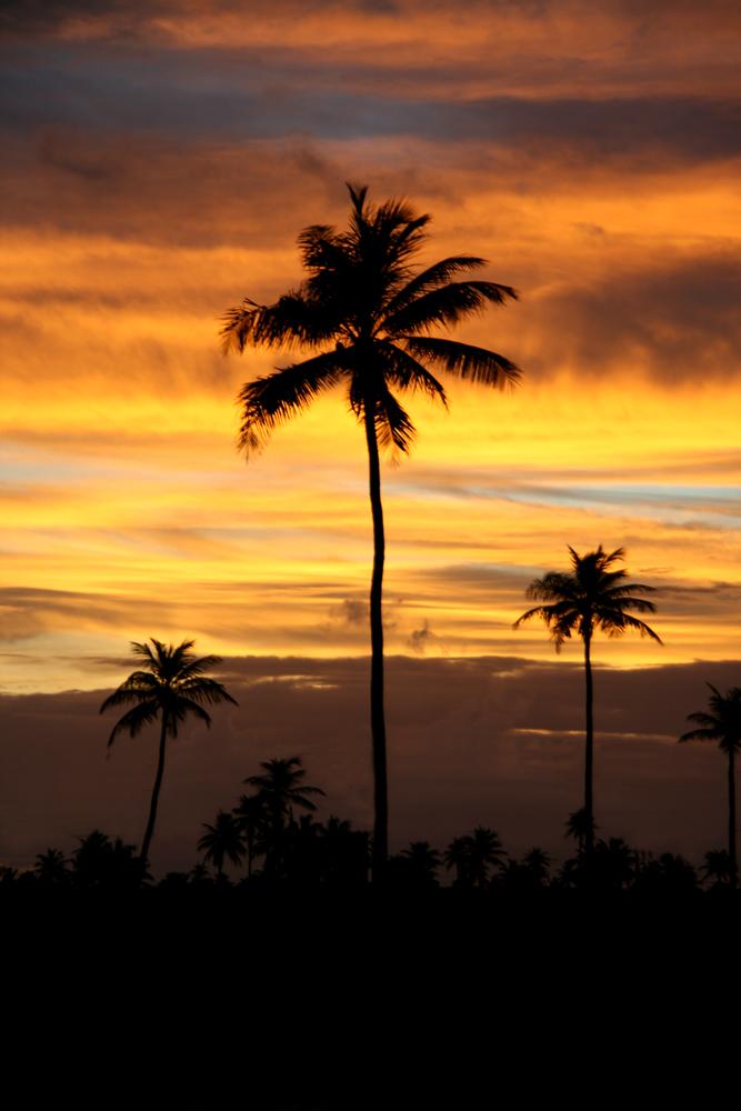 Sunset in Brasilien