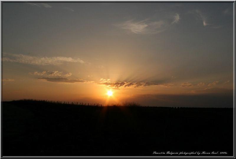 Sunset in Bulgaria . 2006c