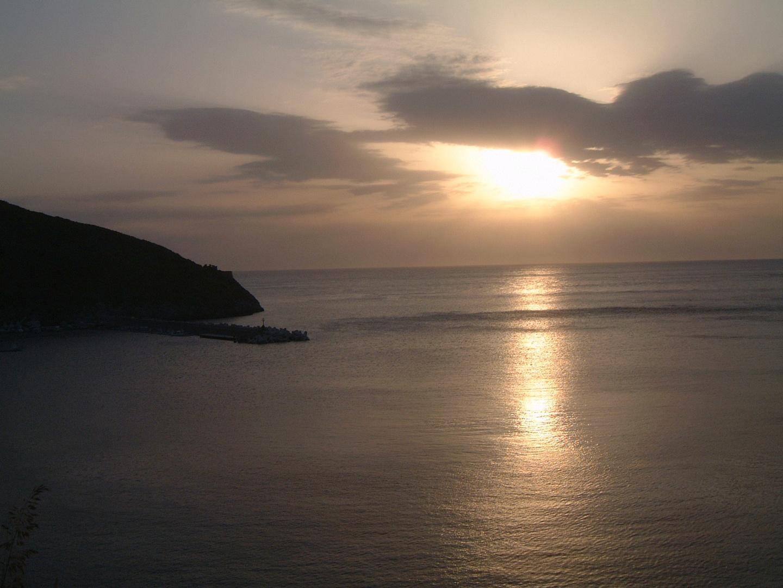 Sunset in Capu Palinuro