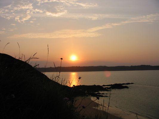 Sunset in der Bretagne