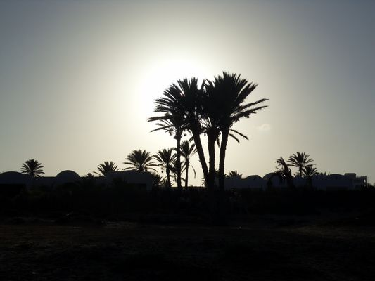 Sunset in Djerba