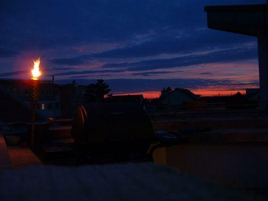 sunset in edingen