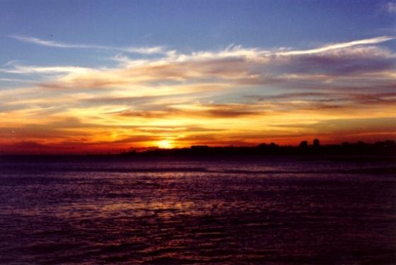 Sunset in Estoril