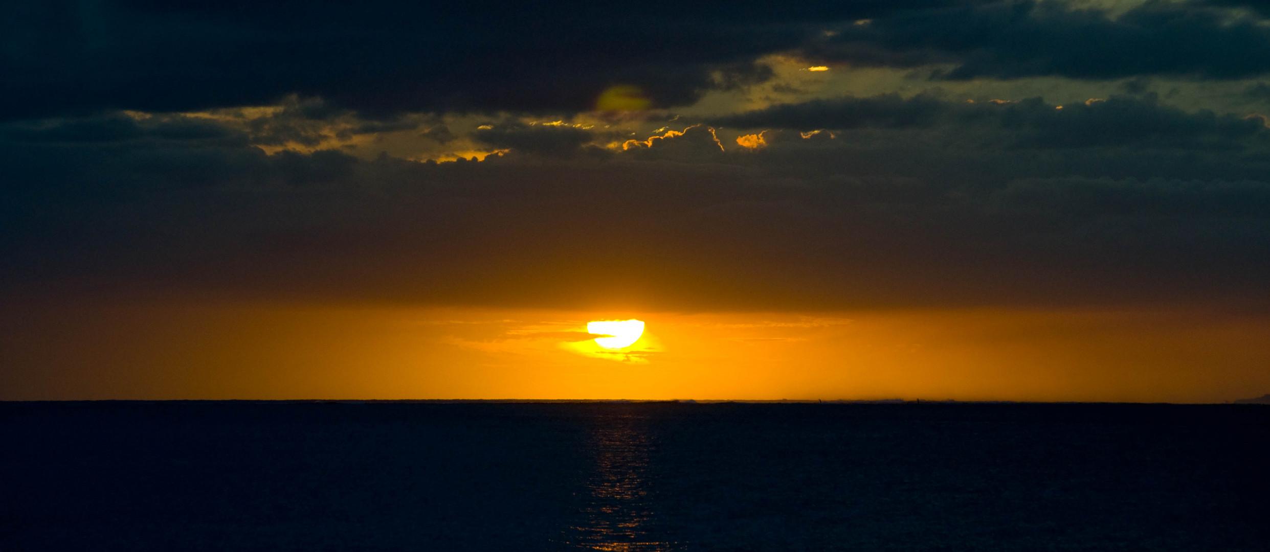 Sunset in Fiji 2