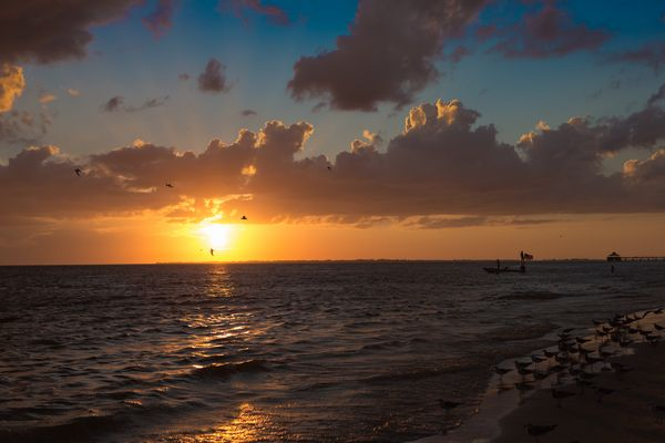 Sunset in Fort Myers Beach