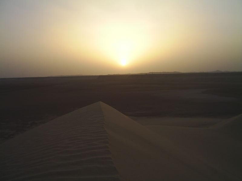 Sunset in Ghadames (Libya)