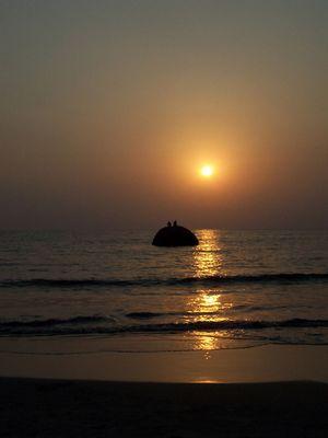 Sunset in Goa ist grenzenlos