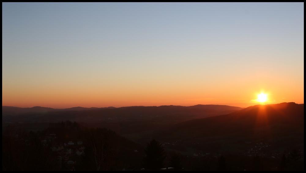 Sunset in Hessen