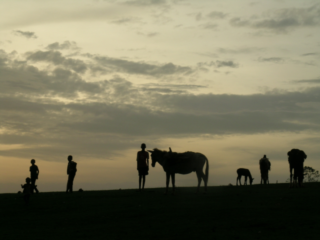 Sunset in Illubabor