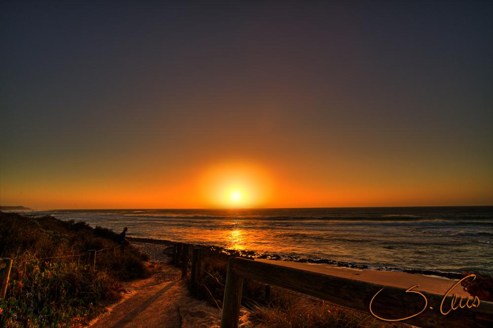 Sunset in Kalbarri