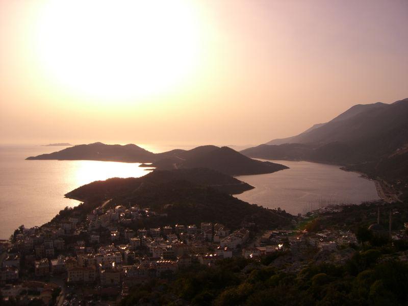Sunset in Kas, Antalya