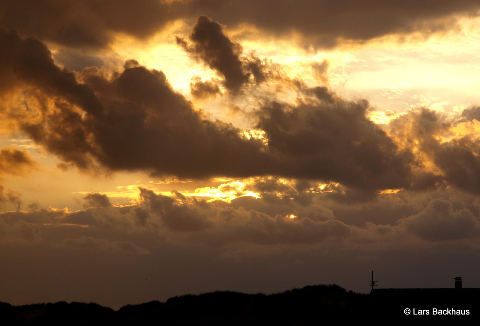 Sunset in Klegod