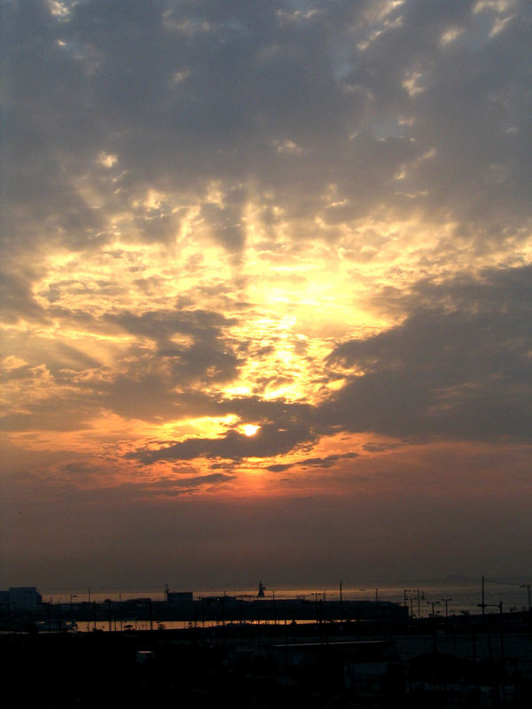 Sunset in Kobe