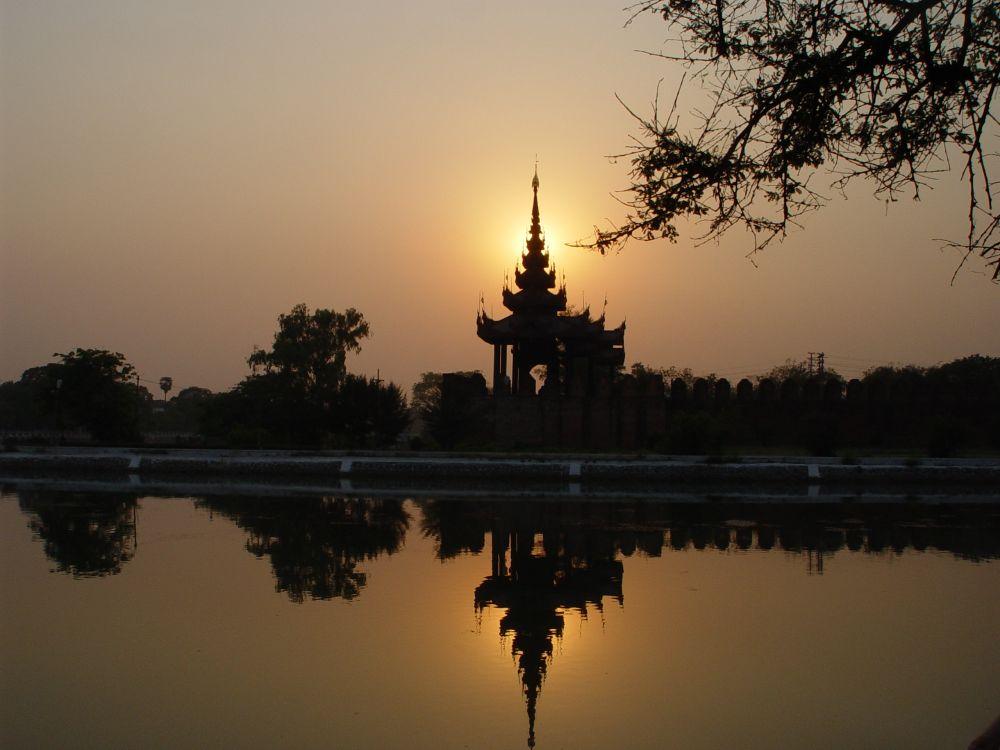 Sunset in Mandalay