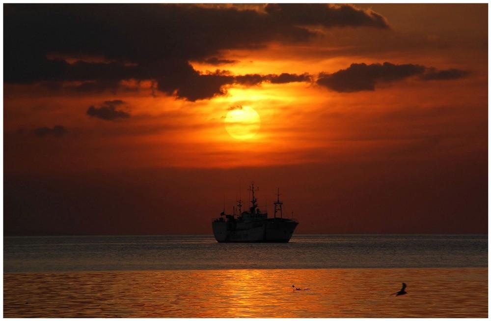 Sunset in Manilabay