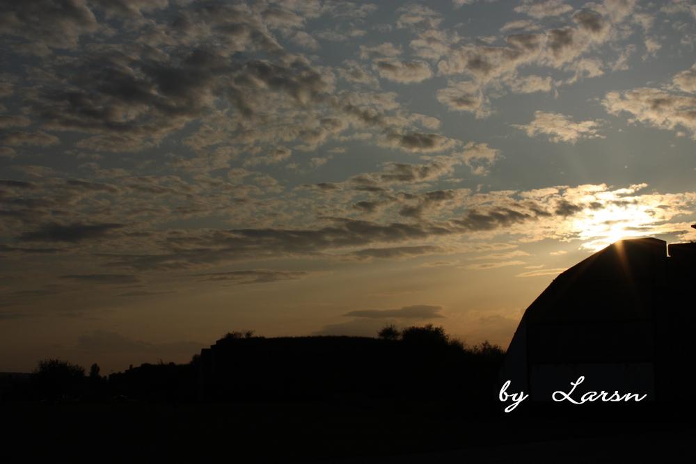 Sunset in Merseburg