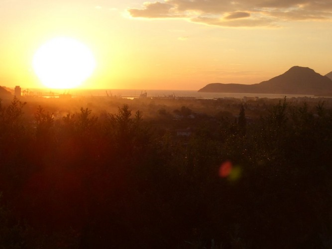 Sunset in Montenegro