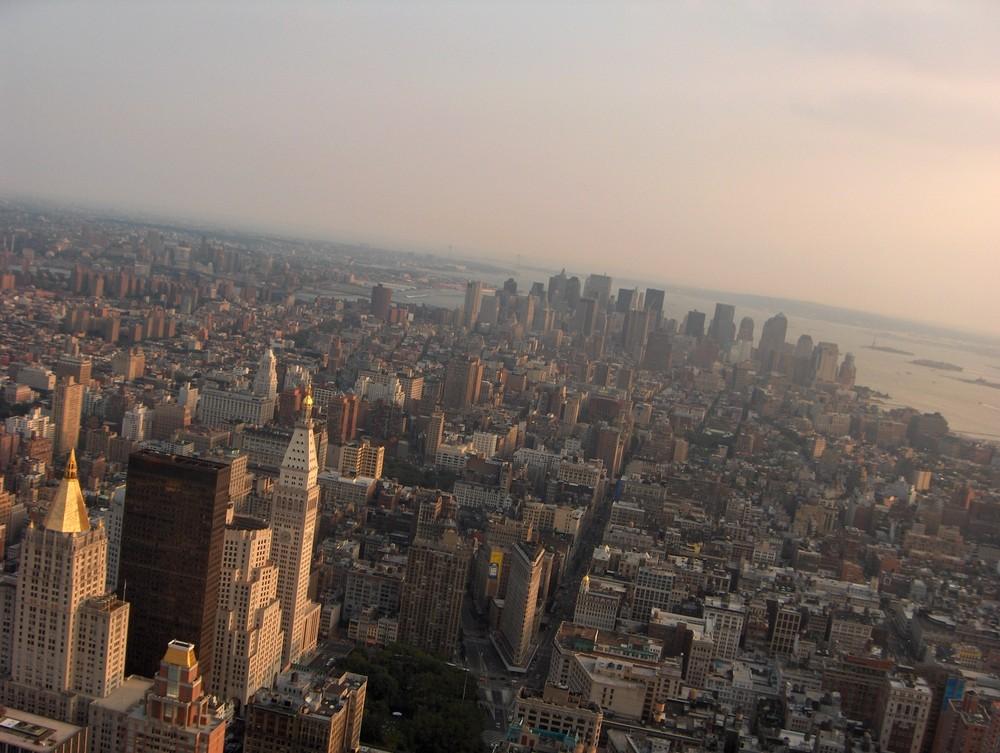 Sunset in NewYork