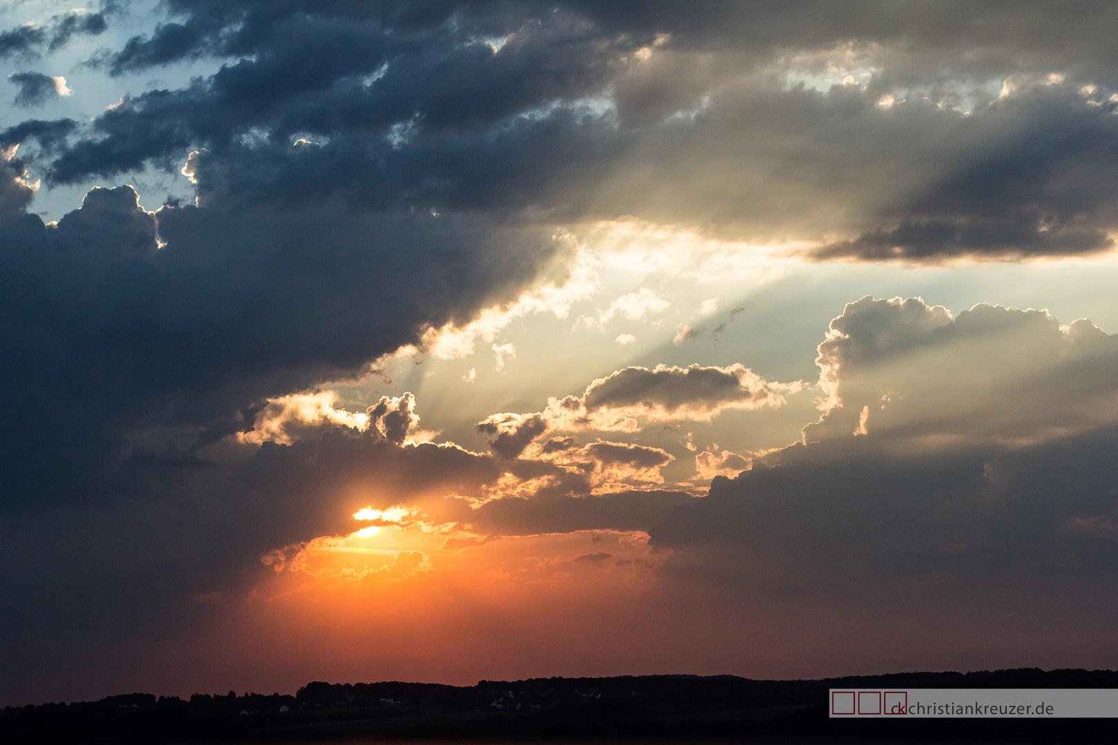 Sunset in Overath