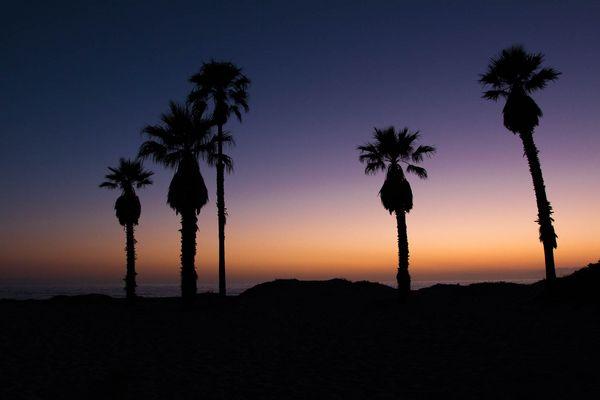 Sunset in Oxnard
