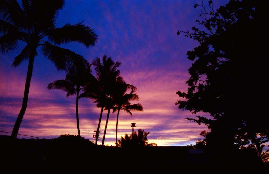 Sunset in Paradies