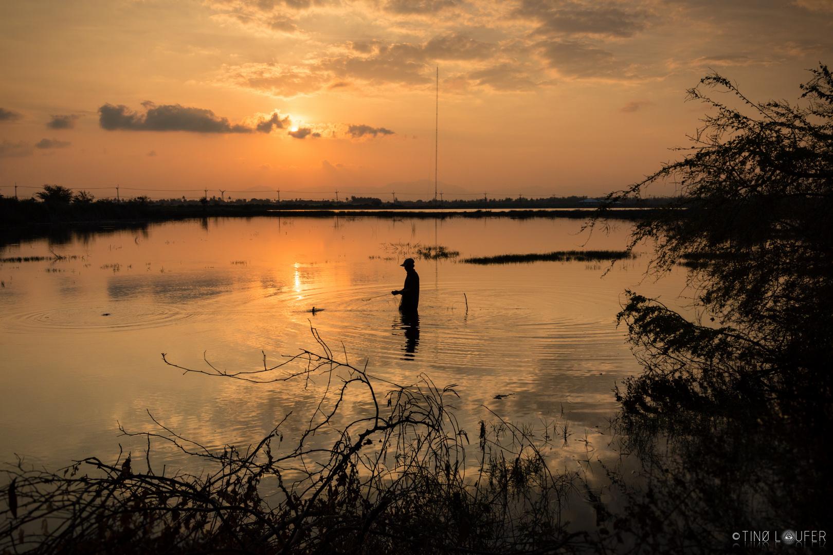 Sunset in Prachuap Khiri Khan, Thailand