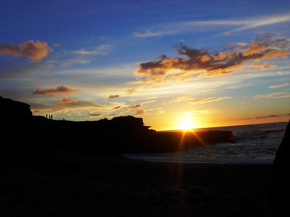 Sunset in Punakaki/ NZ