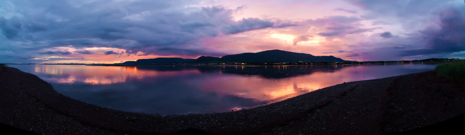 Sunset in Quebec