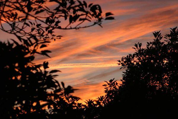 Sunset in Ratingen