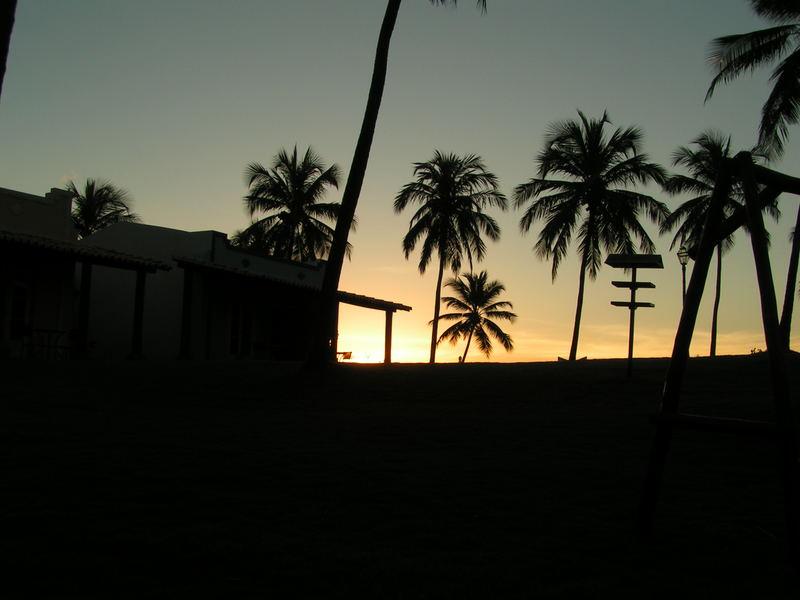 Sunset in Sauipe Coast - bahia State/Brazil