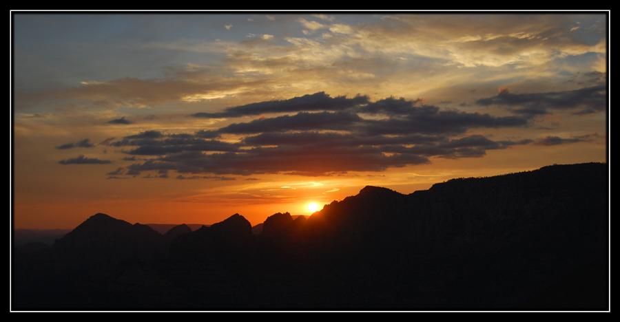 Sunset in Sedona2