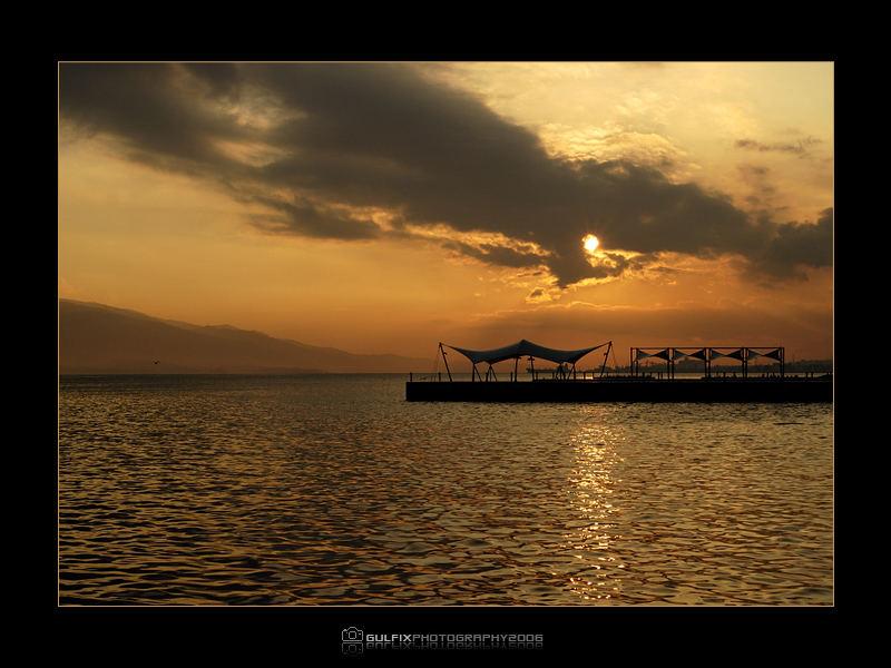 Sunset in SekaPark