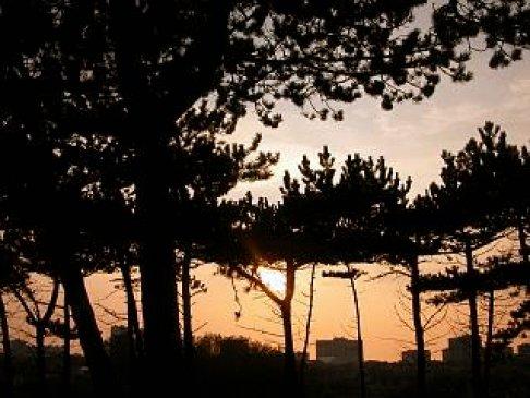 Sunset in september