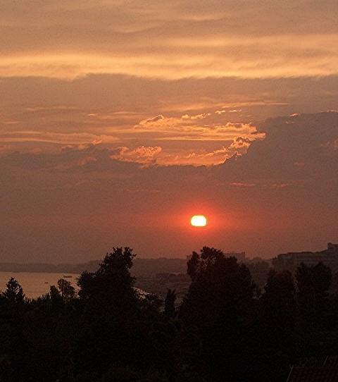 Sunset in Side/Türkei