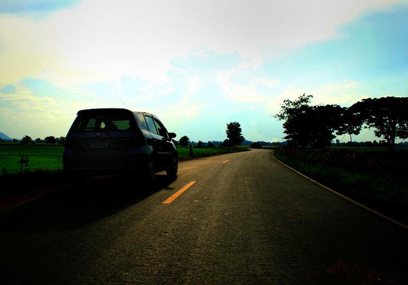 SunSet in Supanburi