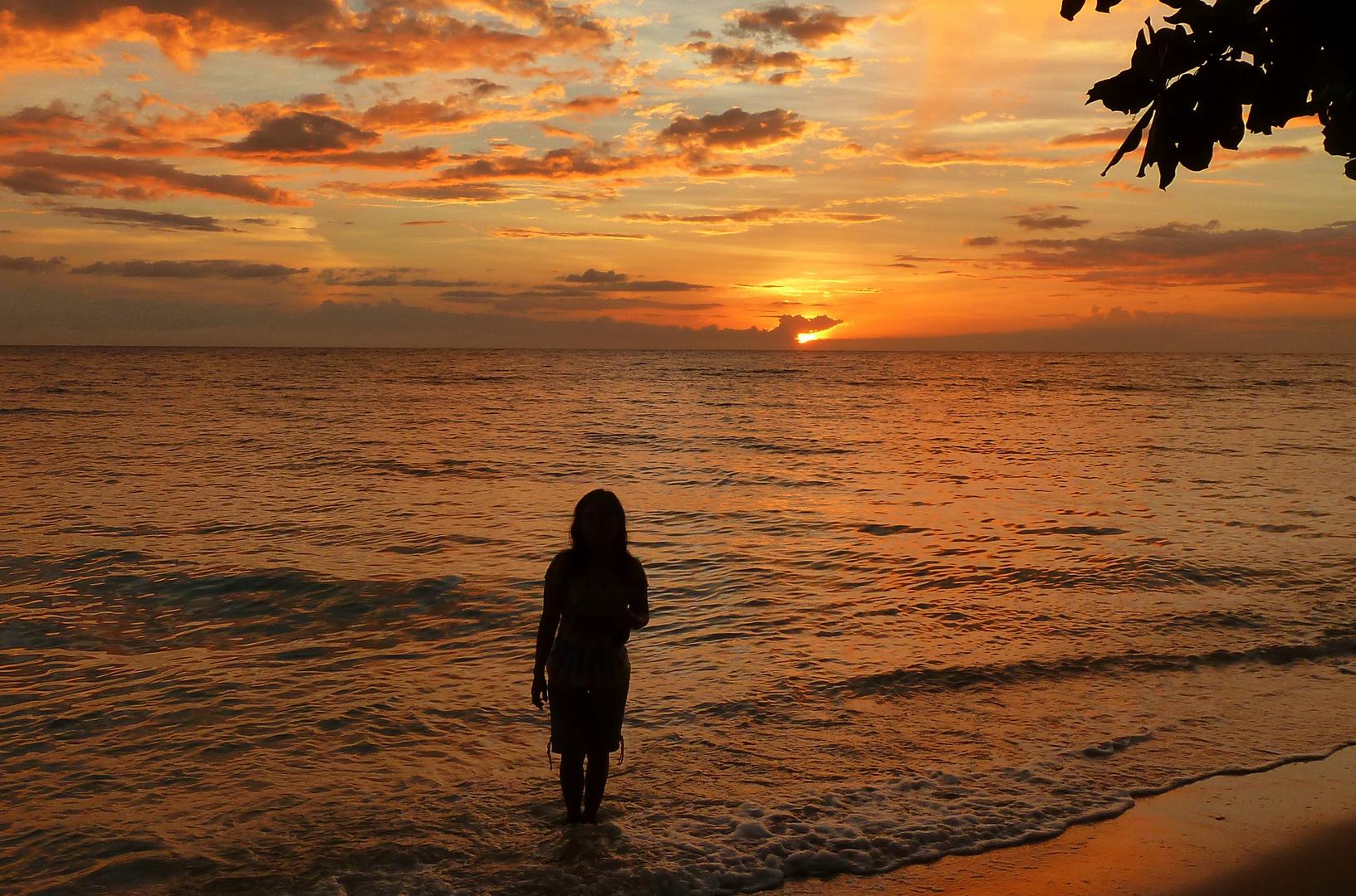 Sunset in Tabango/Leyte