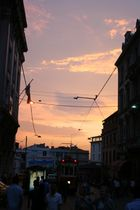 Sunset in Taksim, Istanbul